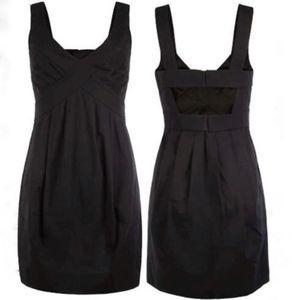 All Saints Spitalfields Black Memory Dress US 2